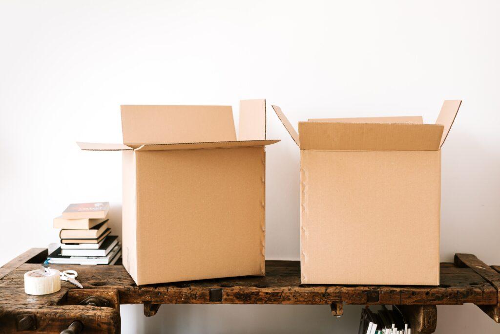 Öppna lådor och SelStor